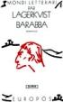 Pär Lagerkvist, Barabba