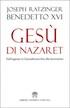 Benedetto XVI, Gesù di Nazaret